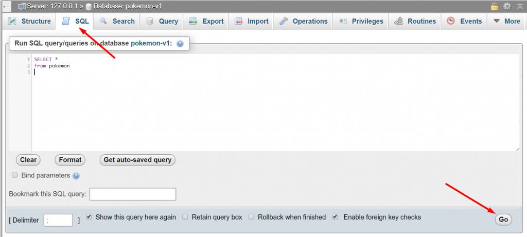 Viết lệnh SQL căn bản trên Xampp